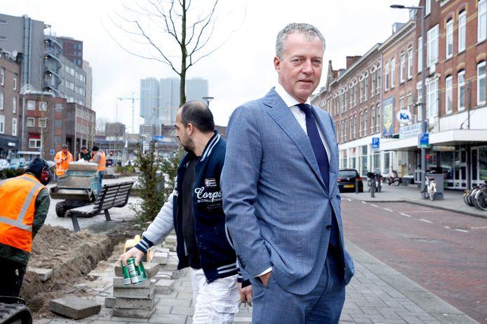 Marco Pastors, directeur van het Nationaal Programma Rotterdam Zuid.