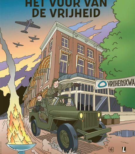 Stripboek vertelt verhaal van het einde van de Tweede Wereldoorlog