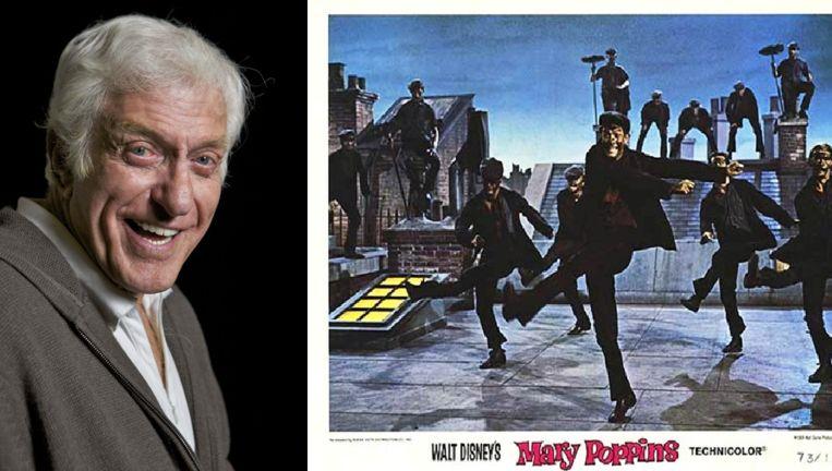 Dick Van Dyke speelde één van de hoofdrollen in de Disney-film 'Mary Poppins'