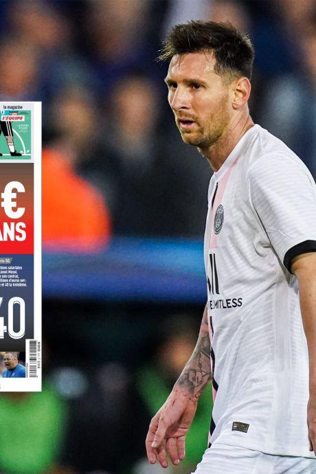 """""""Un salaire XXL"""": les détails du contrat de Messi au PSG révélés par L'Équipe"""