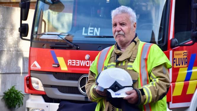 """Bernard (69!) stopt als brandweerman: """"Die keer in Acanthus voelden we ons de verrassingsact in een striptent"""""""