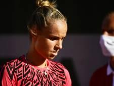 Arantxa Rus kansloos tegen powertennis van Kvitova