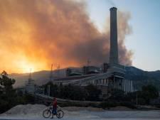 Évacuation d'une centrale thermique menacée par un incendie en Turquie