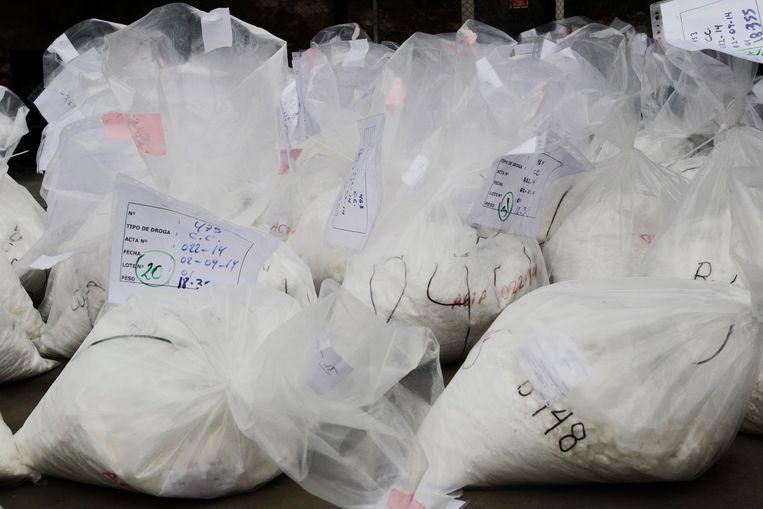 Archiefbeeld.: cocaïnevondst in Peru.