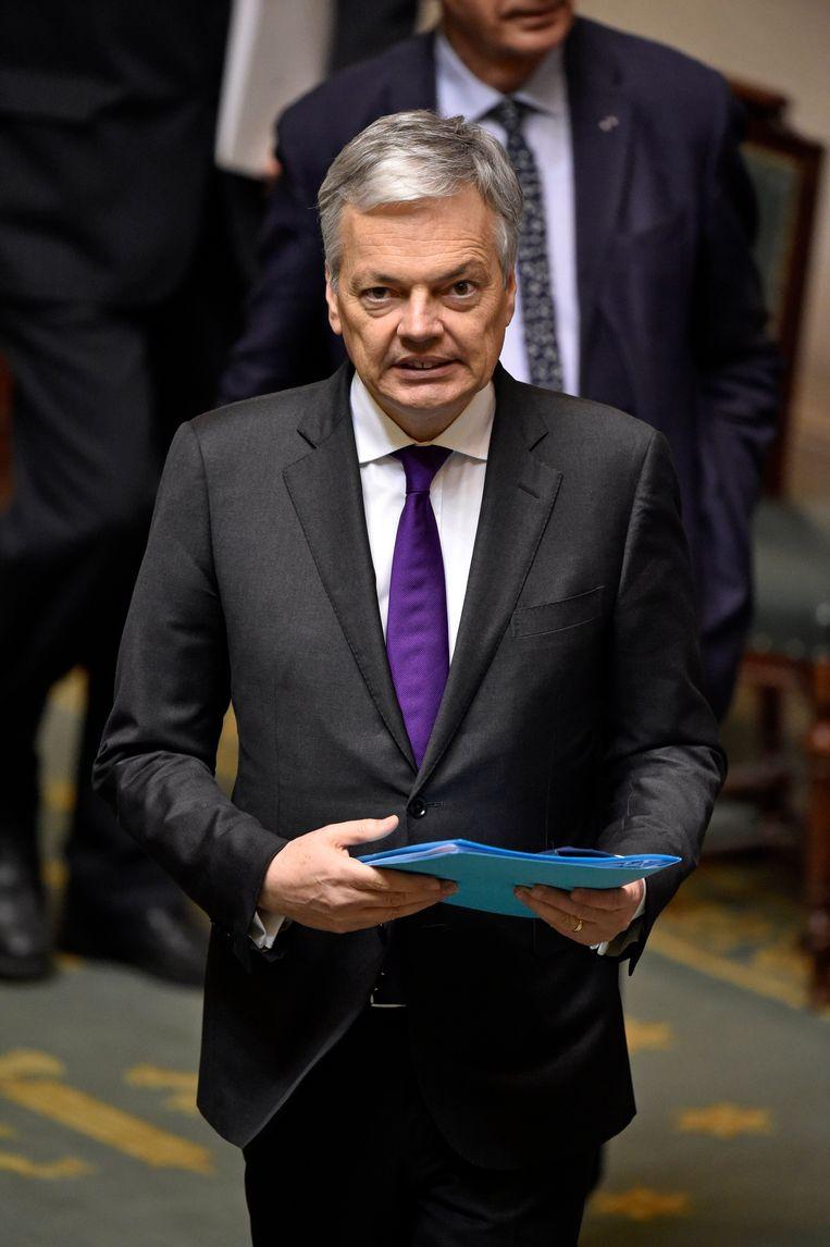 Minister van Buitenlandse Zaken Didier Reynders (MR). Beeld Photo News