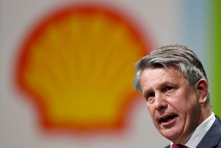 Shell-topman Ben van Beurden. Beeld REUTERS
