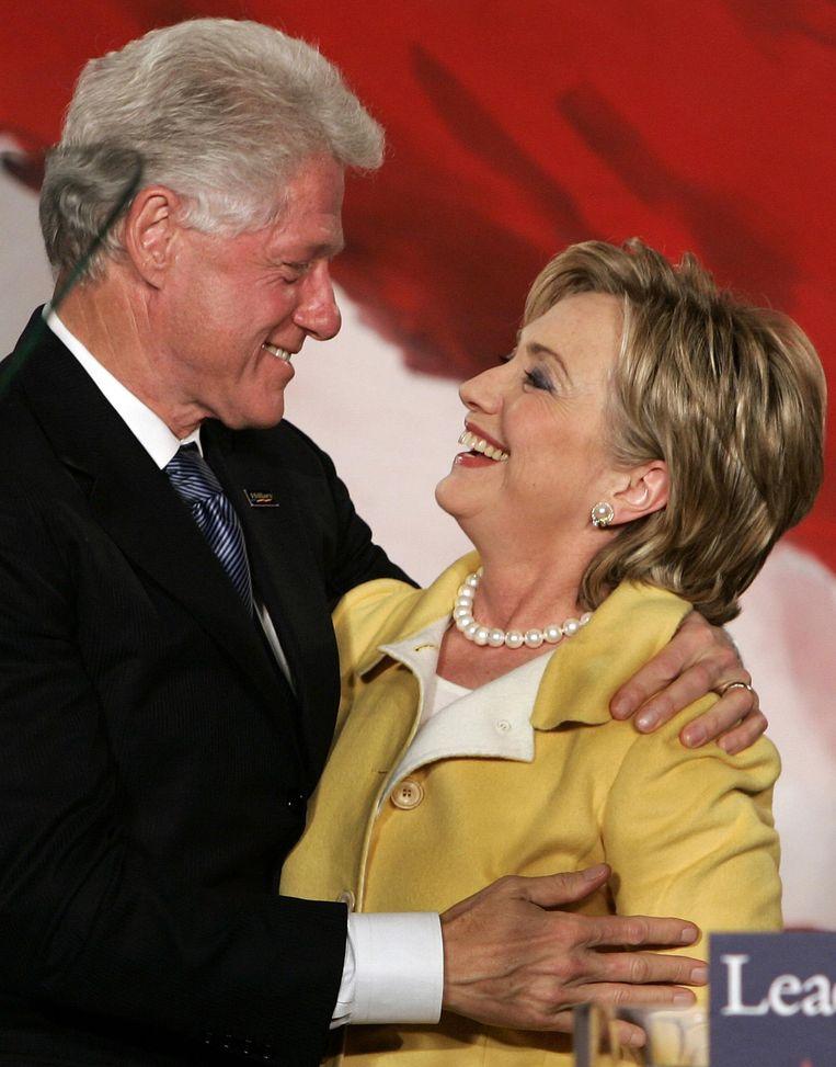 Bill Clinton was een interessante First Lady geweest, puur voor het experiment. Beeld afp