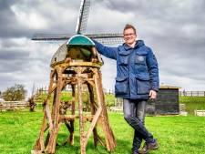 Bijzonder project! Bjorn (18) bouwt nieuwe molen voor Alphen: 'Gaat honderden uren werk inzitten'