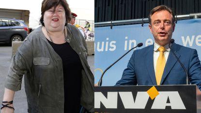 """Maggie De Block: """"Misschien is bij De Wever zelf de dash er een beetje uit"""""""