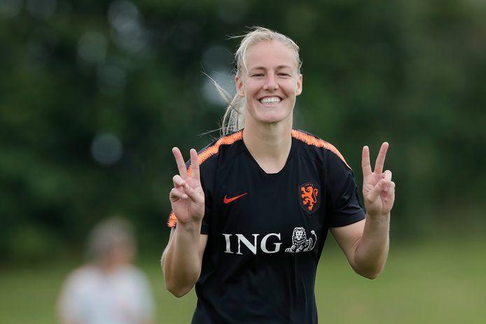 Stefanie van der Gragt.