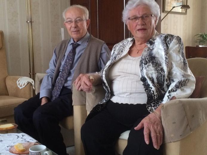 Max (84) en Dora Strick (85) uit Uden zijn zestig jaar getrouwd.