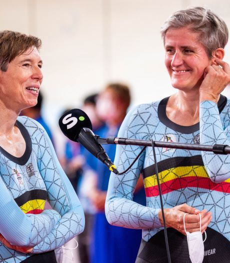 Victime d'une chute, Griet Hoet abandonne lors de la course en ligne