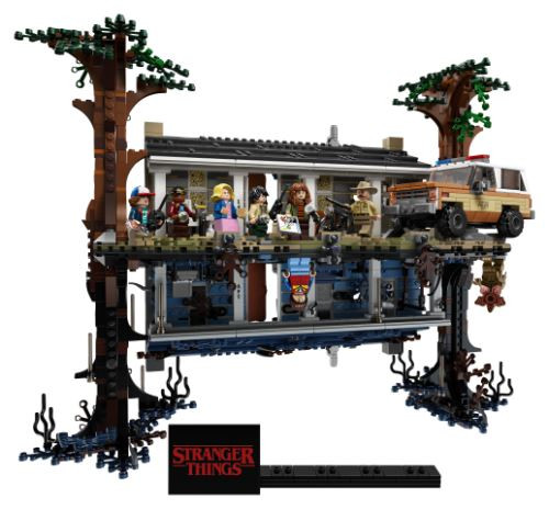 La maison de Stranger Things en LEGO.