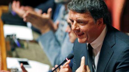 Italiaanse ex-premier Renzi vormt nieuwe partij