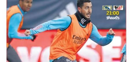 """""""Maintenant ou jamais"""": la presse espagnole met la pression sur Hazard avant la Supercoupe"""