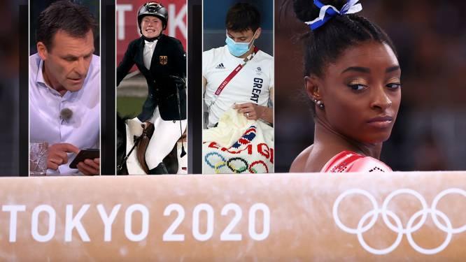 Opmerkelijke Spelen: breien op de tribune, toiletteren, goud delen en zilver haten