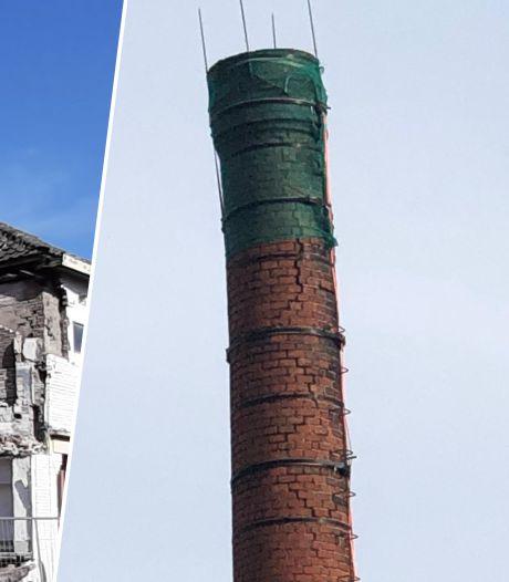 Schoorsteen aan Kromhout staat dan misschien krom, maar zeker niet op instorten