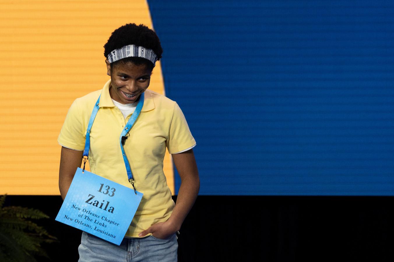 """Hoewel Zaila spellen louter als een """"hobby"""" beschouwt, oefende ze maar liefst zeven uur per dag voor de wedstrijd."""