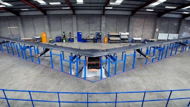 Facebook ontwikkelt drone die internet verspreidt