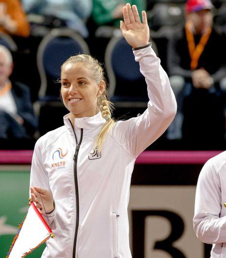 Hogenkamp geeft op in ITF-finale Johannesburg