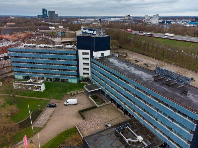 Wehkamp zat vanaf 1974 in het pand aan de Meeuwenlaan.