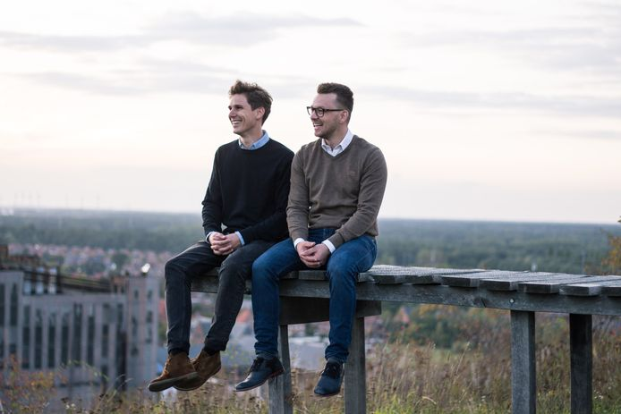 Thomas Celen & Wouter Schoofs, founders van Zapfloor