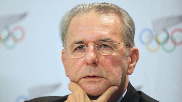 IOC-baas Jacques Rogge. Beeld reuters