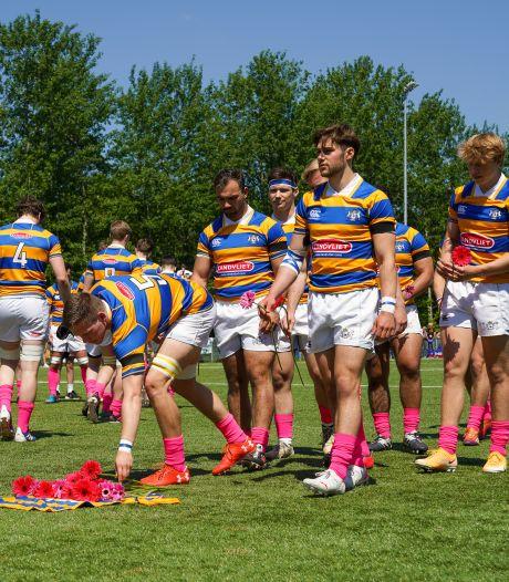 HRC staat stil bij moord op geliefde rugbyster Renée: 'Ik kreeg kippenvel toen ik die roze sokken aantrok'