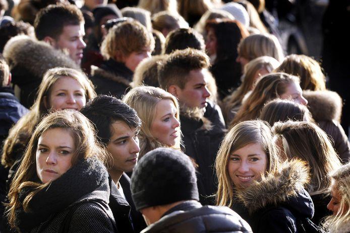 Nederlandse jongeren zijn gestopt met langer worden.
