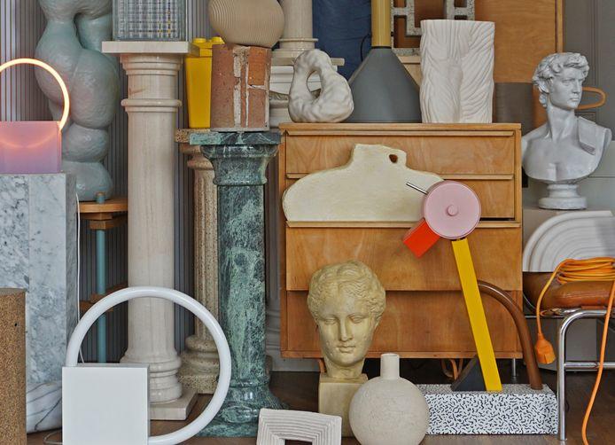 Zuilen, Romeinse beelden en objecten met een opvallende stijl of vorm: de taboedoorbrekende versieringen kunnen een interieur kleuren.