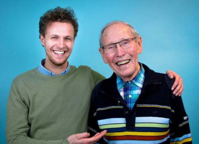 Tim en opa Frits