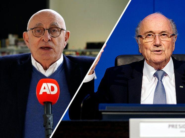Van Praag: 'De enige die wat mocht zeggen was Blatter'