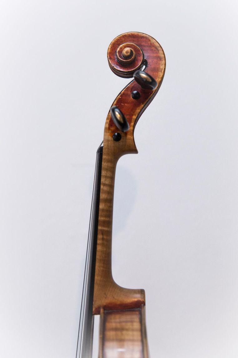 De viool 'Lupot' Beeld Dingena Mol