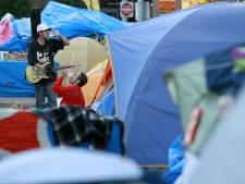 Occupy-kamp Eindhoven verhuisd naar parkeerplaats