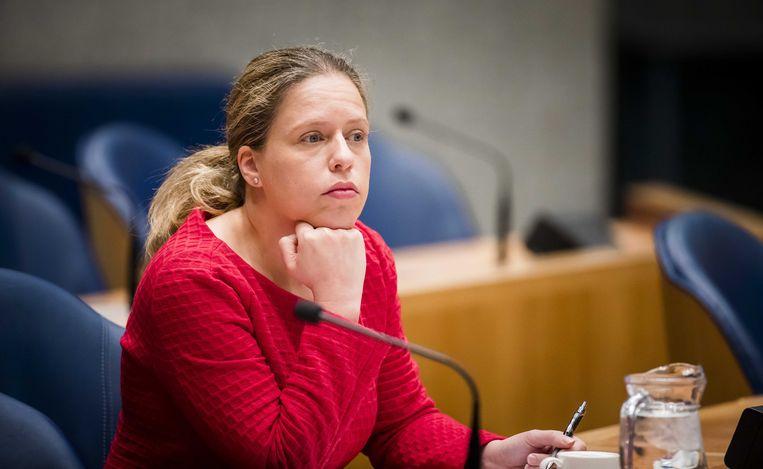 Minister Carola Schouten van landbouw, natuur en voedselkwaliteit (ChristenUnie). Beeld ANP