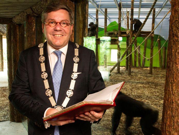 (Oud) Burgemeester Berry Link van GeldropMierlo in Dierenrijk