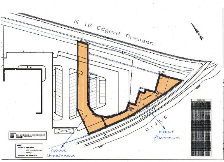 Plannetje met Rik De Saedeleerplein