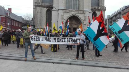 Voorpost houdt 'verboden' betoging in Gent