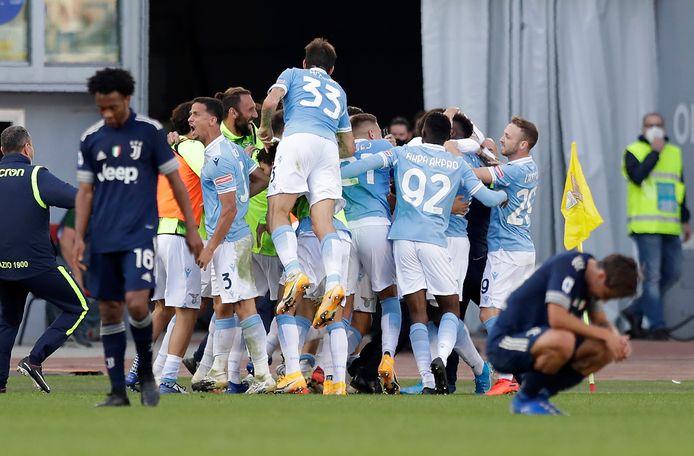 Juventus speelt wéér gelijk na doelpunt Lazio-goudhaantje in 95ste minuut |  Buitenlands voetbal | AD.nl