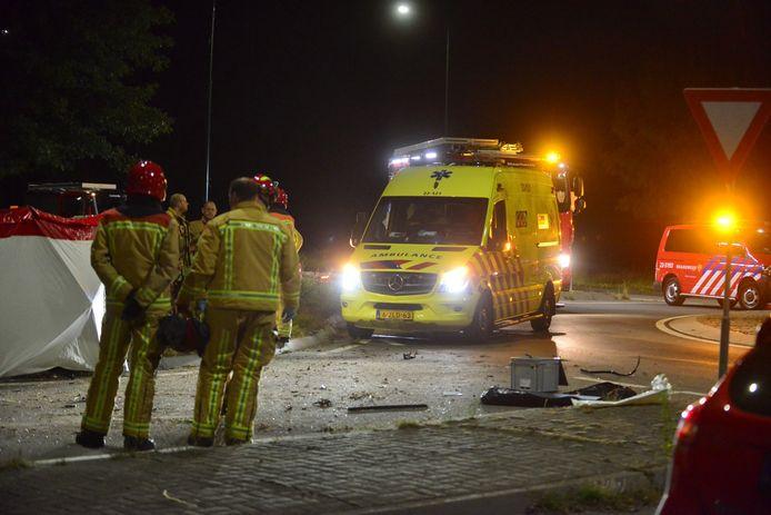 Dodelijk ongeval in Budel.