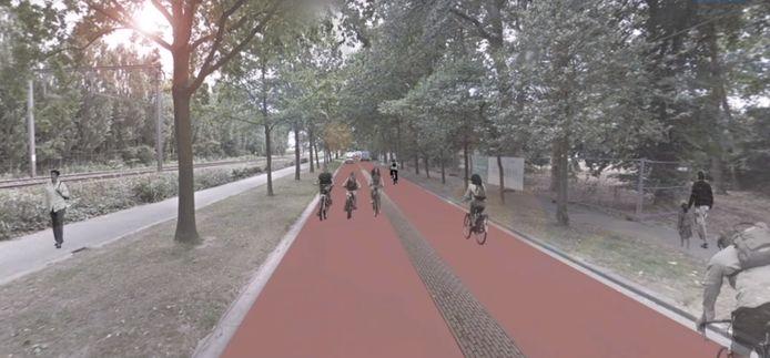 De fietser is straks koning in de Guido Gezellelaan en heel wat andere Rumbeekse straten.