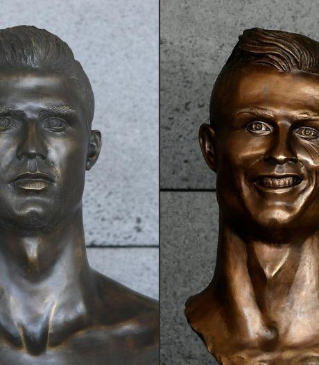 Le fameux buste de Cristiano Ronaldo remplacé en catimini