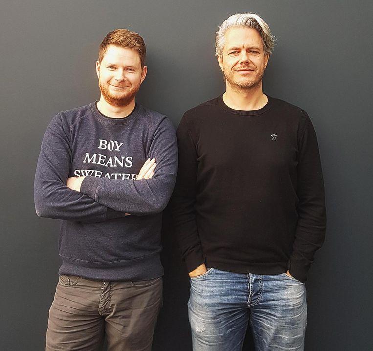 Brecht Kets en Mike Ptacek kregen een Bizidee-award.