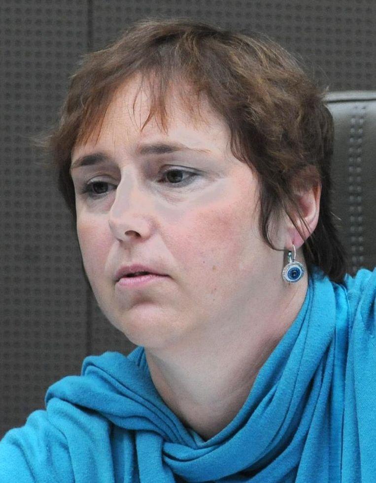 Karin Brouwers (CD&V), Vlaams Parlementslid. 'De voorzitter heeft de volledige chronologie die uiteindelijk tot het ontslag van zowel Lembrechts als Claes leidde uit de doeken gedaan. Daarmee is voor mij de kous af.