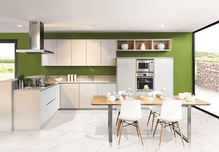 Luxe Design Keuken : Trend: glas en hoogglans voor luxe en licht in je keuken