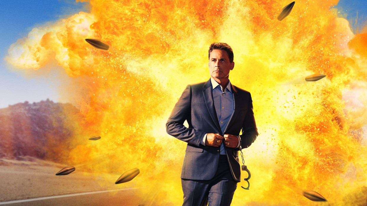 Rob Lowe in 'Attack of the Hollywood Clichés! Beeld TMDb