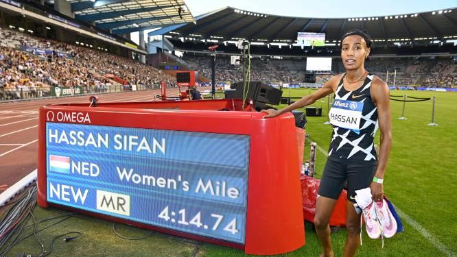 Sifan Hassan zet in Brussel beste seizoensprestatie op Engelse mijl neer