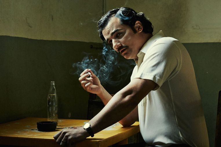 Narcos actor Wagner Moura. Beeld