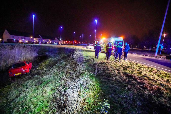Het ongeluk gebeurde op het Park Forum in Eindhoven.