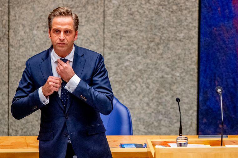 Minister Hugo de Jonge (Volksgezondheid, Welzijn en Sport). Beeld ROBIN UTRECHT